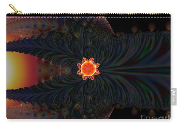 Dark Space Fractal  Carry-all Pouch