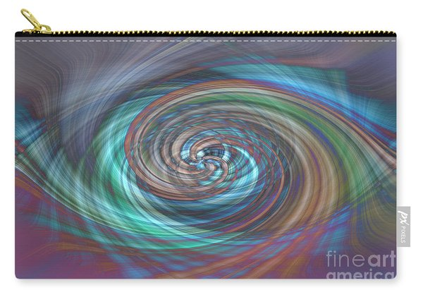 Dark Swirls Carry-all Pouch
