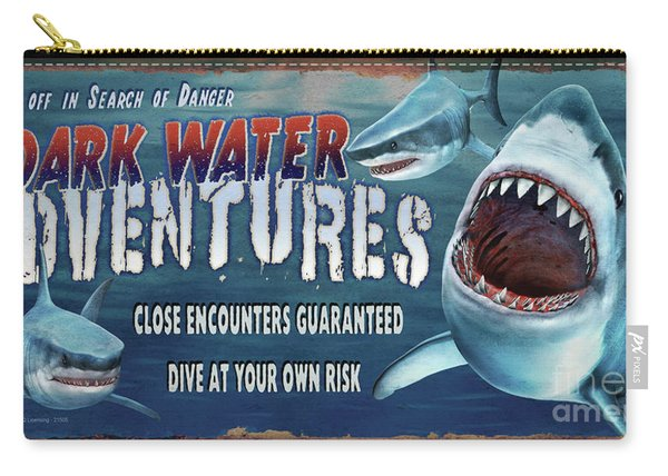 Dark Water Adventure Carry-all Pouch