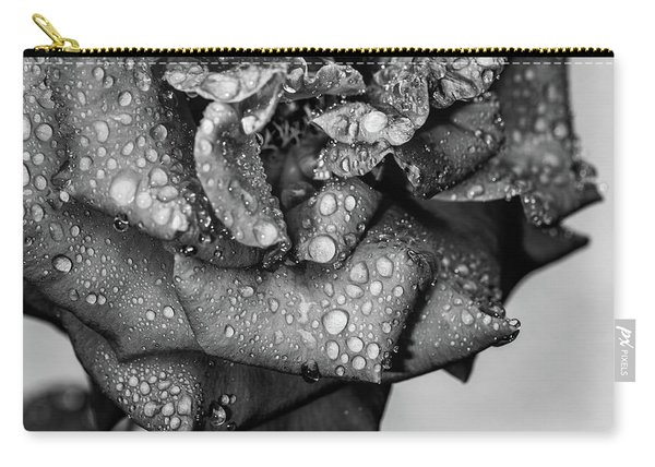 Dark Wet Rose Carry-all Pouch