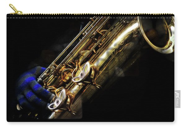 Dark Winter Sax Carry-all Pouch