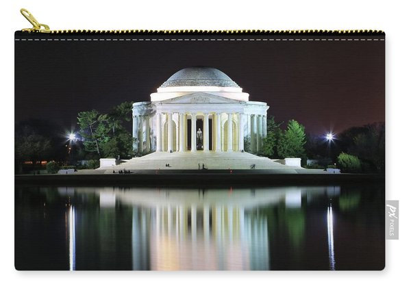 Darkness Over The Jefferson Memorial Carry-all Pouch