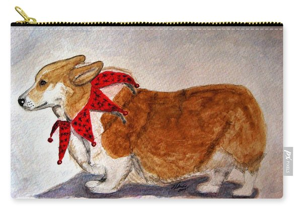 Dashing Through The Snow Surely You Jest Carry-all Pouch