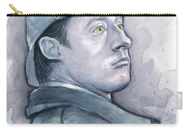 Data As Sherlock Holmes Carry-all Pouch