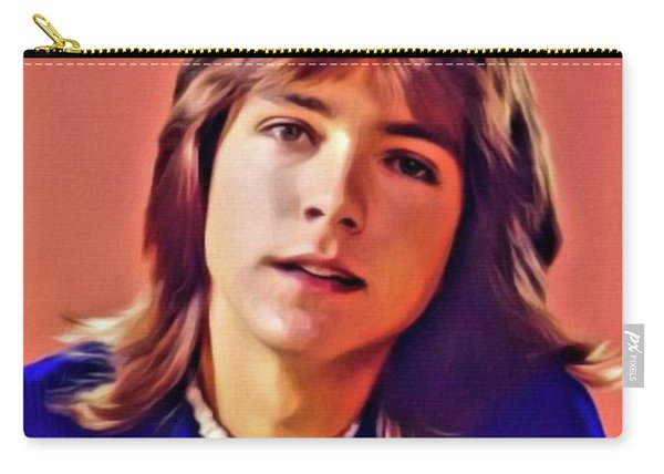 David Cassidy, Hollywood Legend. Digital Art By Mb Carry-all Pouch