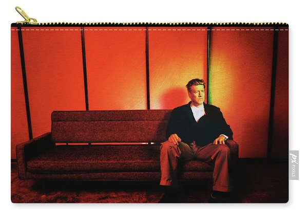 David Lynch Red Carry-all Pouch
