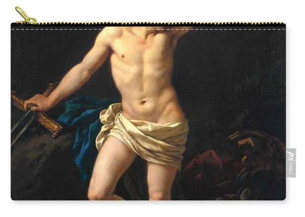 David Victorious Carry-all Pouch
