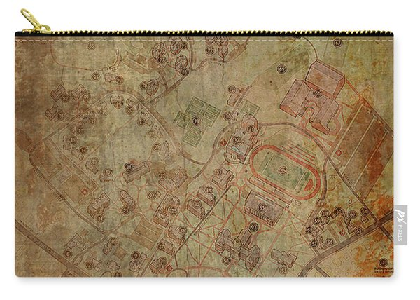 Davidson College Map Carry-all Pouch