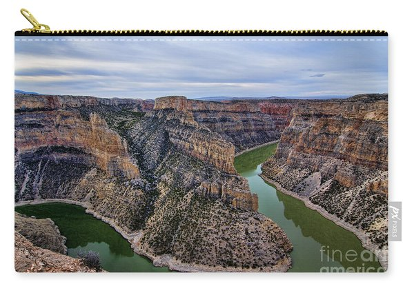 Dawn At Devils Overlook Bighorn Canyon Carry-all Pouch