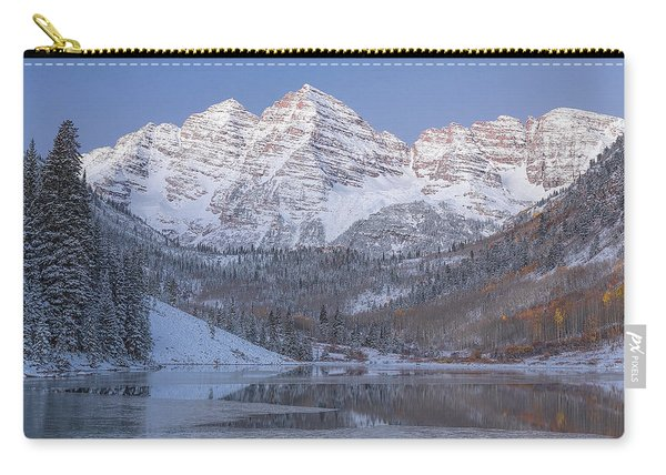 Dawn At Maroon Bells 2 Carry-all Pouch