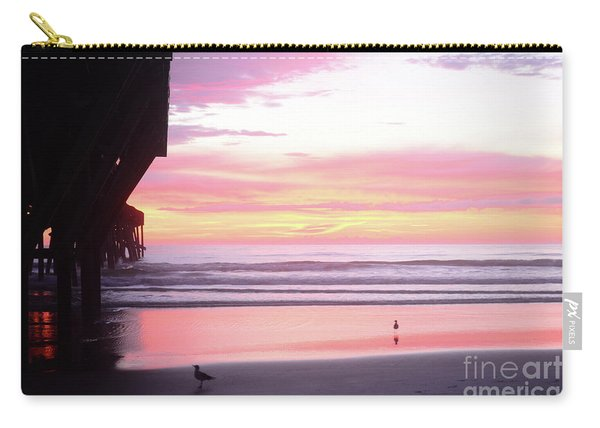 Dawn At The Beach 8-14-16 Carry-all Pouch