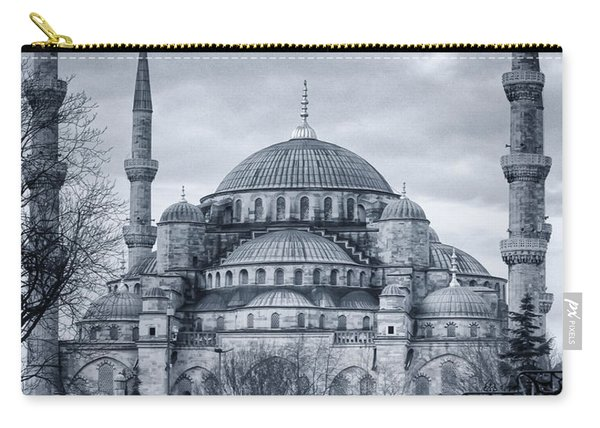 Dawn At The Blue Mosque Carry-all Pouch