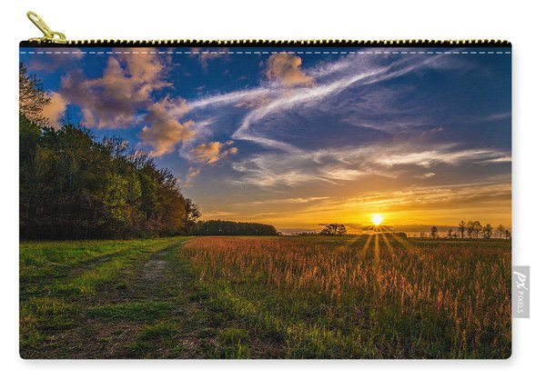 Dawn In The Lower 40 Carry-all Pouch