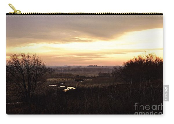 Dawn In The Valley Carry-all Pouch