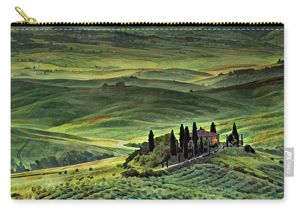 Dawn In Tuscany Italy Carry-all Pouch