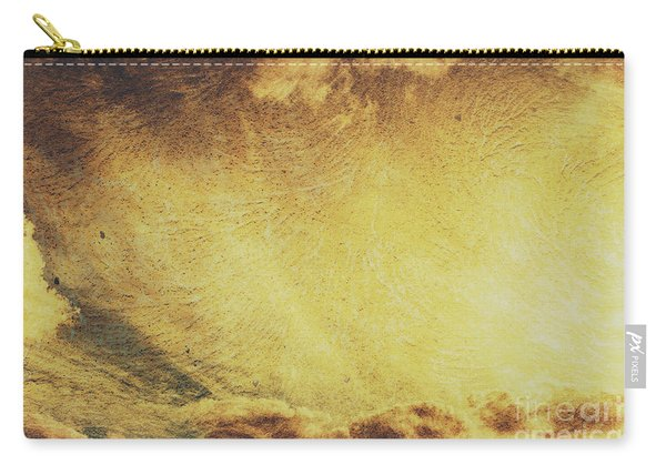 Dawn Of A New Day Texture Carry-all Pouch