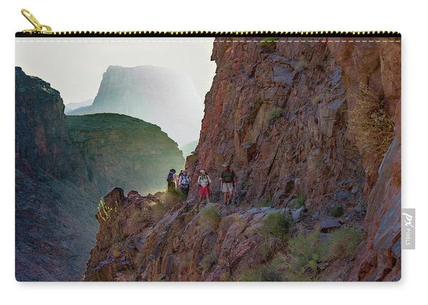 Dawn On Bright Angel Trail Carry-all Pouch