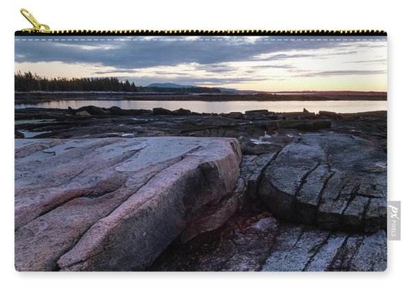 Dawn On The Shore In Southwest Harbor, Maine  #40140-40142 Carry-all Pouch