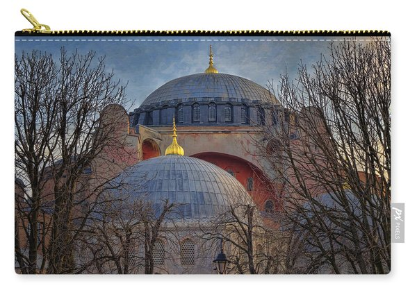 Dawn Over Hagia Sophia Carry-all Pouch
