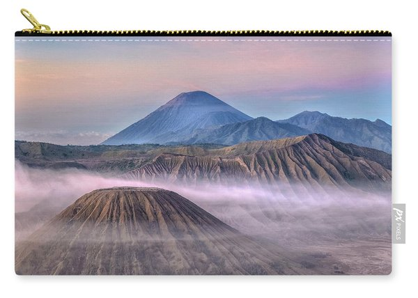 Dawn Over Mount Bromo - Java Carry-all Pouch