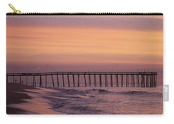 Dawns Purple Waters Carry-all Pouch