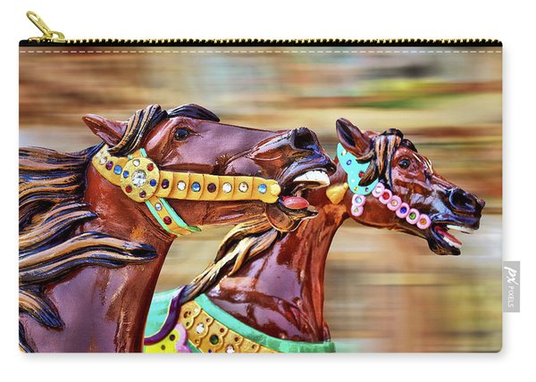 Day At The Races Carry-all Pouch