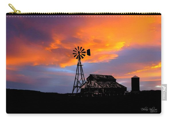 Carry-all Pouch featuring the photograph Day Is Done by Deleas Kilgore