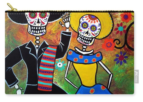 Day Of The Dead Bailar Carry-all Pouch