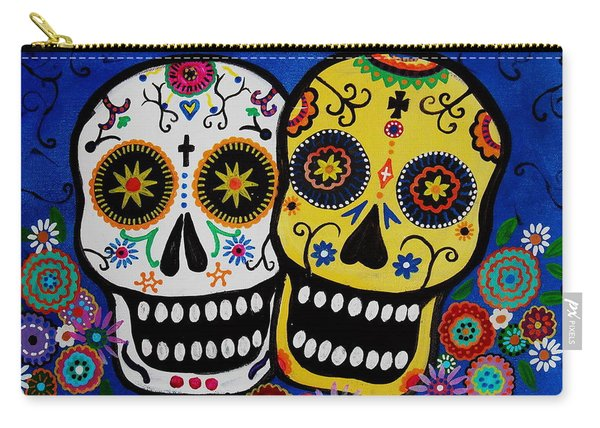 Day Of The Dead Sugar Carry-all Pouch