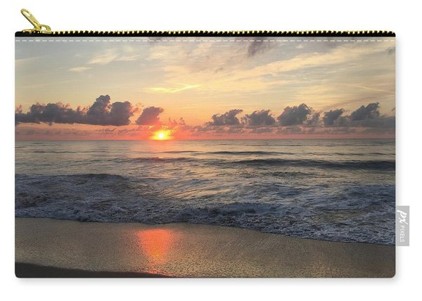 Daybreak At Cocoa Beach Carry-all Pouch