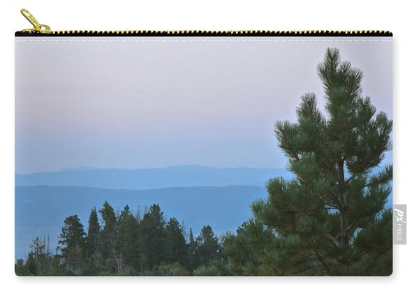 Daybreak On The Mountain Carry-all Pouch