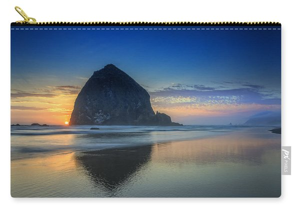 Day's End In Cannon Beach Carry-all Pouch