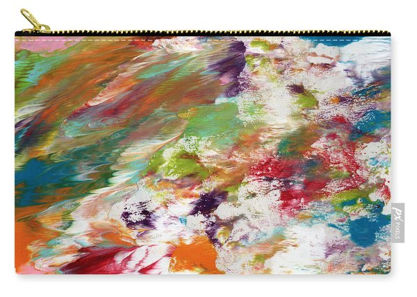 Days Gone By- Abstract Art By Linda Woods Carry-all Pouch
