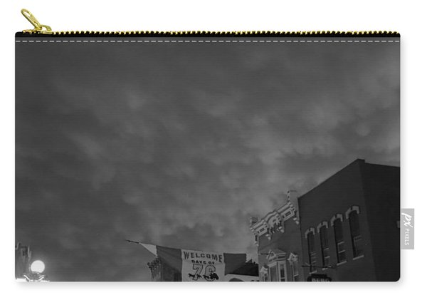 Days Of 76 Deadwood B/w Carry-all Pouch