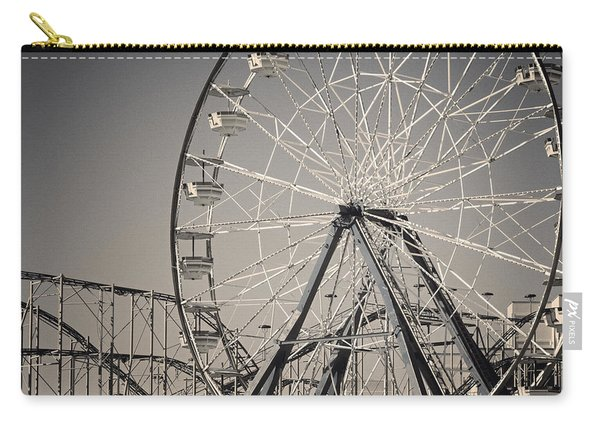Daytona Beach Ferris Wheel Carry-all Pouch