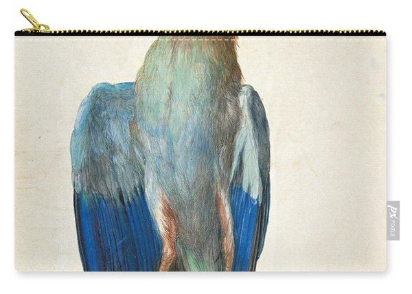 Dead Blue Roller Carry-all Pouch