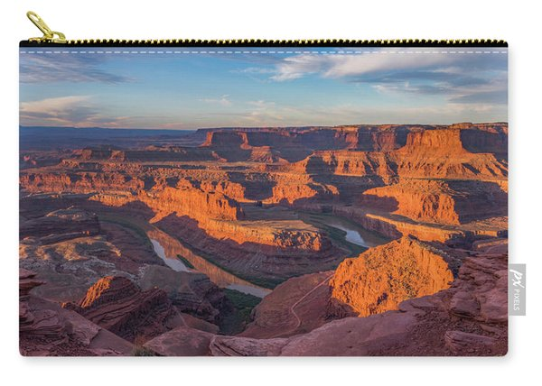 Dead Horse Point Sunrise Panorama Carry-all Pouch