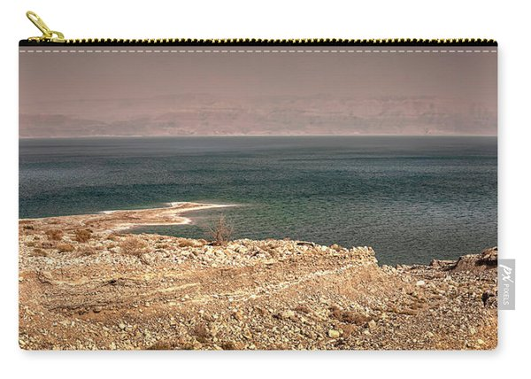 Dead Sea Coastline 1 Carry-all Pouch