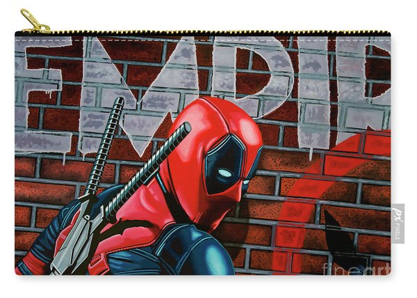Deadpool Painting Carry-all Pouch