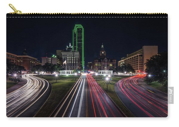 Dealey Plaza Dallas At Night Carry-all Pouch