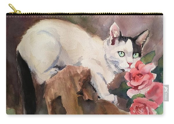Deano In The Roses Carry-all Pouch