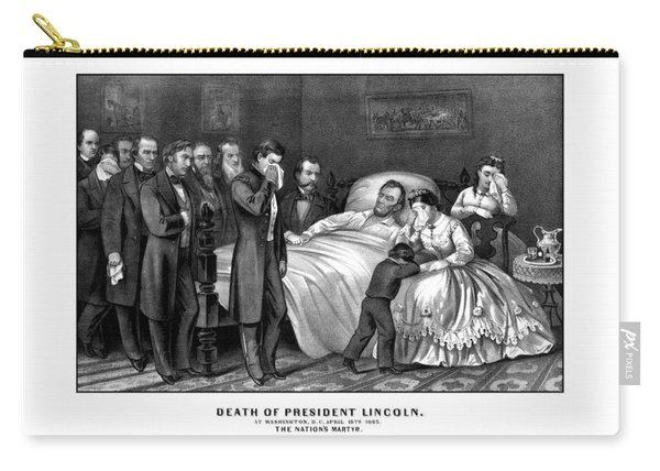 Death Of President Lincoln Carry-all Pouch