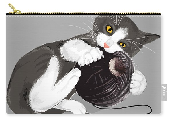 Death Star Kitty Carry-all Pouch