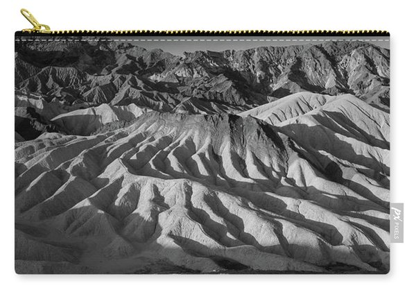 Death Valley Erosion B W Carry-all Pouch