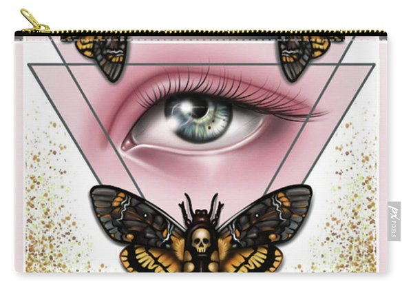 Death's Head Moths Carry-all Pouch