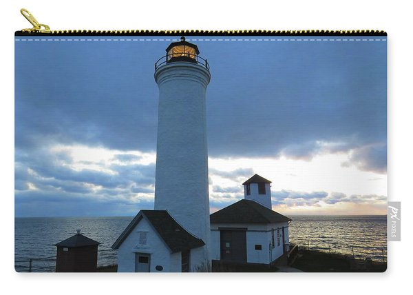 December Light, Tibbetts Point  Carry-all Pouch