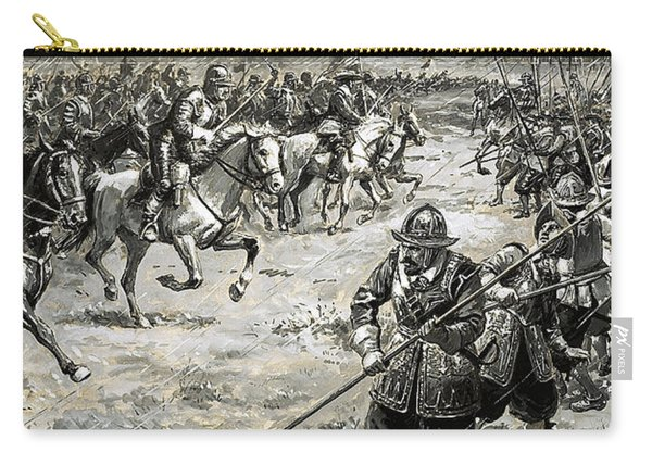 Decisive Battles  Where King Charles Lost His Crown Carry-all Pouch