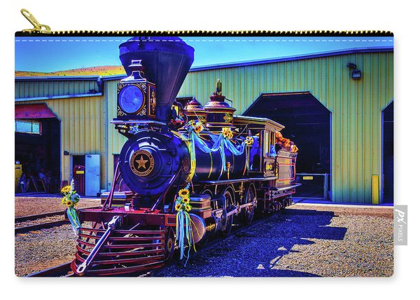Decorated Glenbrook Locomotive Carry-all Pouch
