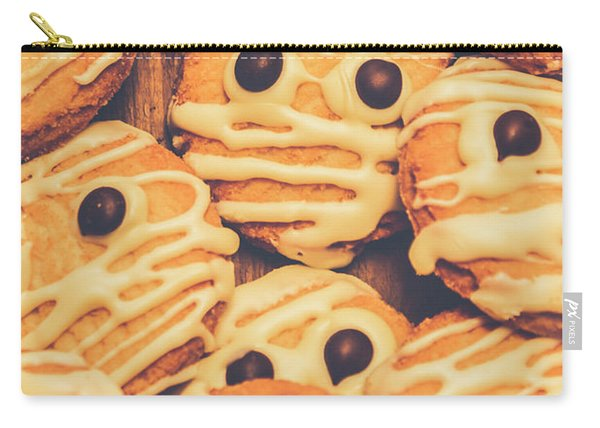 Decorated Shortbread Mummy Cookies Carry-all Pouch