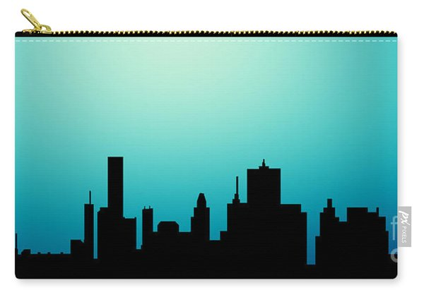 Decorative Abstract Skyline Houston R1115a Carry-all Pouch